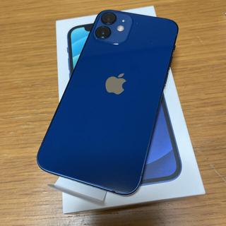 Apple - iPhone12mini 64GB simフリー ブルー 新品 未使用品