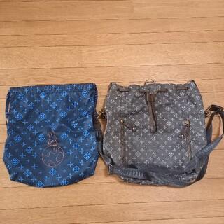 Russet - KLM×ミッフィー×ラシット コラボ 3WAY巾着型バッグ(ミッフィートート付)