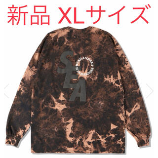 SEA - WIND AND SEA S_E_A(BLEACHED) L/S T-SHIRT