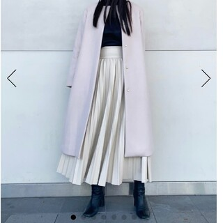 FRAY I.D - 今期新作♡セルフォード♡フェイクレザープリーツスカート