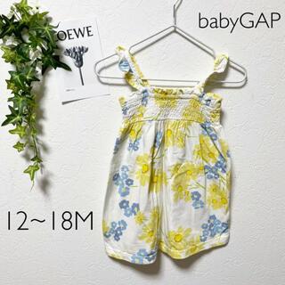 ベビーギャップ(babyGAP)のbabyGAP 花柄ワンピース(ワンピース)