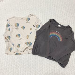フタフタ(futafuta)のtete a tete トレーナー 100(Tシャツ/カットソー)