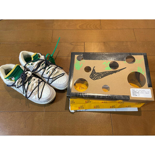 OFF-WHITE - NIKE DUNK LOW OFF-WHITE LOT.20
