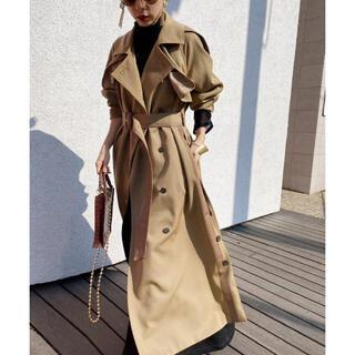 アメリヴィンテージ(Ameri VINTAGE)の新品 AMERI MINIMAL FLARE LONG TRENCH COAT(トレンチコート)
