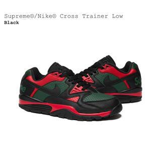 Supreme - Supreme Nike Air Cross Trainer Low 黒