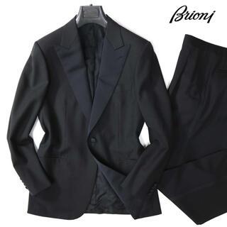 ブリオーニ  75万最高級ウールブラックタキシードセットアップスーツ(セットアップ)