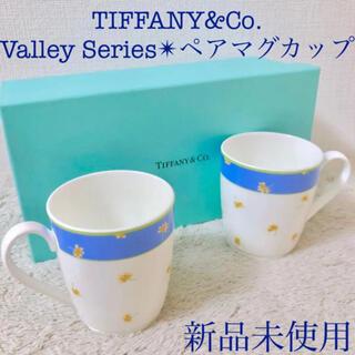 Tiffany & Co. - Tiffany&Co. 新品ティファニーペアマグカップバレーペアマグカップ2個