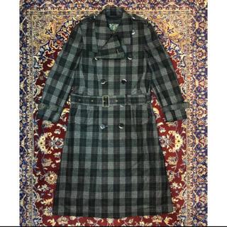 ジョンローレンスサリバン(JOHN LAWRENCE SULLIVAN)のVINTAGE slim-silhouette trench coat(トレンチコート)