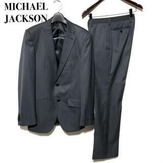 マイケルジャクソン 2B ストライプスーツ Y6/MICHAEL JACKSON(セットアップ)