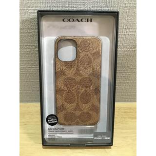 コーチ(COACH)のコーチ COACH iphone12 mini Slim wrap case (iPhoneケース)