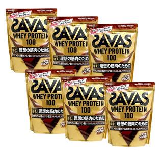 SAVAS - ザバスホエイプロテイン100 リッチショコラ6袋!
