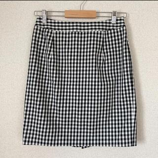 ナチュラルビューティーベーシック(NATURAL BEAUTY BASIC)のタイトスカート チェック(ひざ丈スカート)