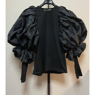 COMME des GARCONS - 2021AW コムデギャルソン ブラウス シャツ 黒