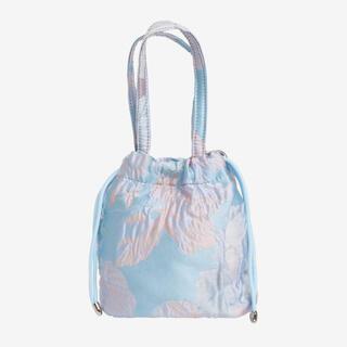 EDIT.FOR LULU - HVISK dusty blue pouch dreamy ポーチ 巾着