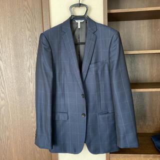 タカキュー(TAKA-Q)の【訳あり】renoma  スーツ ネイビー チェック  A6(セットアップ)