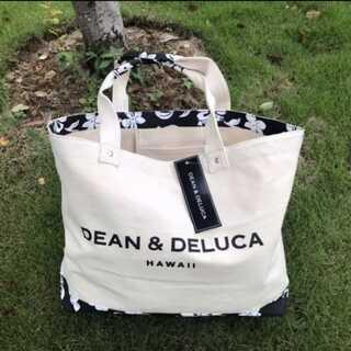 DEAN&DELUCA ディーンデルカ ハワイ限定 ハイビスカス柄 トートバッグ