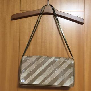 グレースコンチネンタル(GRACE CONTINENTAL)の美品 レジメン ショルダーバッグ(ショルダーバッグ)