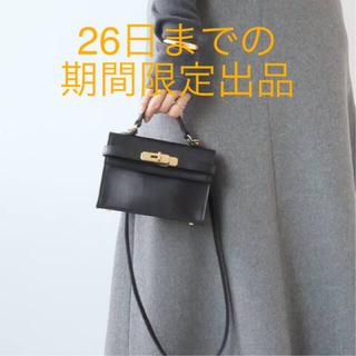 ドゥーズィエムクラス(DEUXIEME CLASSE)の【SITA PARANTICA/シータパランティカ】 MINI BAG(ショルダーバッグ)