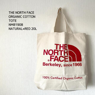THE NORTH FACE - THE NORTH FACE ザノースフェイス トートバッグ ユニセックス 赤