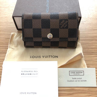 LOUIS VUITTON - ルイヴィトン キーケース ダミエ