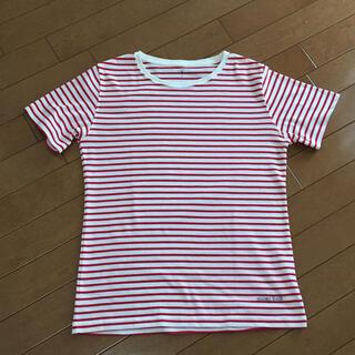 モンベル(mont bell)のmont-bell  モンベル ボーダーTシャツ L(Tシャツ(半袖/袖なし))