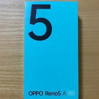 OPPO - OPPO Reno5 A  SIMフリーSIMロック解除  新品未開封 Y!mo