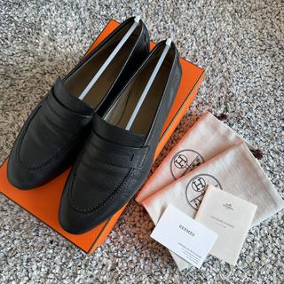 Hermes - 42 1/2 エルメス メンズ  ローファー 紳士靴