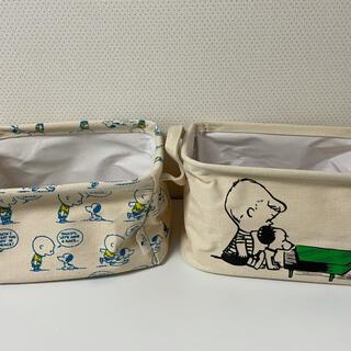 SNOOPY - スヌーピー 小物入れケース セット