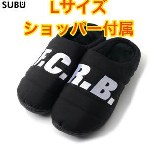 エフシーアールビー(F.C.R.B.)のサンダル FCRB SUBU SANDAL ブラック L(サンダル)