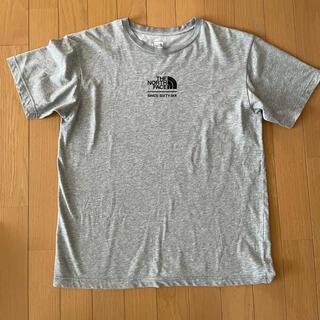 THE NORTH FACE - ザノースフェイス 半袖Tシャツ LogoグレーL