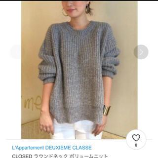 DEUXIEME CLASSE - L'Appartement  アパルトモンドゥーズィエムクラス ニット