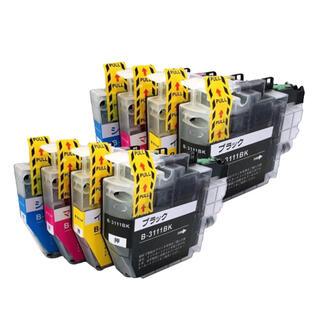 ブラザー(brother)のLC3111-4PK(4色2パック)ブラザー[brother]互換インク(PC周辺機器)