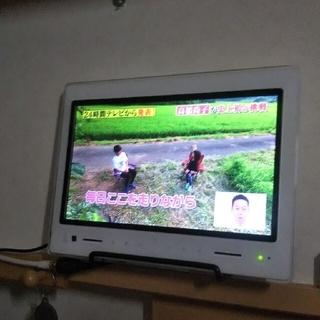 ポータブルテレビ 防水フルセグ