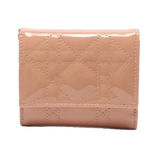 Christian Dior - クリスチャンディオール 3つ折り財布 ロータスウォレット レディース