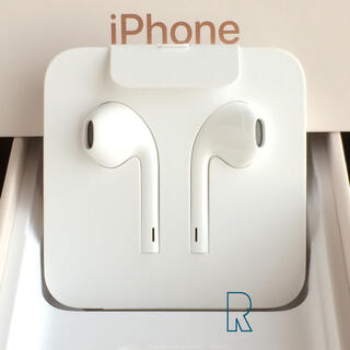 Apple - iPhone8付属 アップル純正イヤホン1点 Apple iPhoneイヤホン