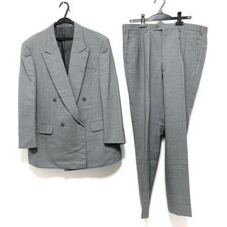 ランバン(LANVIN)のランバン ダブルスーツ メンズ - グレー(セットアップ)