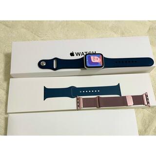 Apple Watch - 【限定値下】apple watch se GPSモデル 40mm