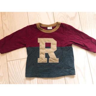 プティマイン(petit main)のプティマイン  ロンT トップス イニシャル 80センチ(Tシャツ)