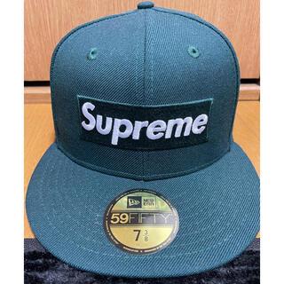 Supreme - supreme 7 3/8 緑 World Famous BoxLogo
