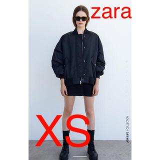 ZARA - ZARA ウォーターレペレント キルティングボンバージャケット XS
