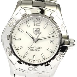 タグホイヤー(TAG Heuer)のタグホイヤー アクアレーサー WAF1414 レディース 【中古】(腕時計)