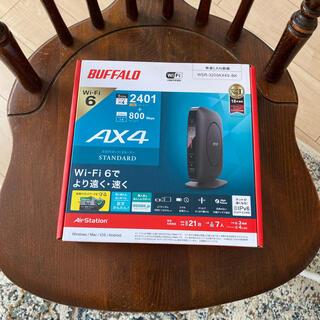 バッファロー(Buffalo)のバッファロー WSR-3200AX4S-BK 無線LAN親機 wi-fi(PC周辺機器)