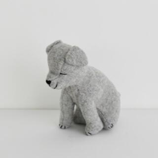 mina perhonen - チェックアンドストライプ  お人形 キット ぬいぐるみ