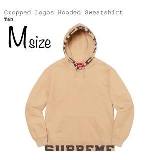 Supreme - Supreme Cropped Logos Hooded Sweatshirt