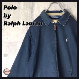ポロラルフローレン(POLO RALPH LAUREN)の90s ラルフローレン スウィングトップ ブルゾン ジャケット 古着(ブルゾン)