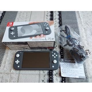 Nintendo Switch - Nintendo Switch Lite 本体 グレー 中古