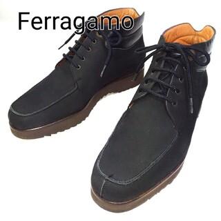 Salvatore Ferragamo - 【Salvatore Ferragamo ヌバック ブーツ】フェラガモ 靴