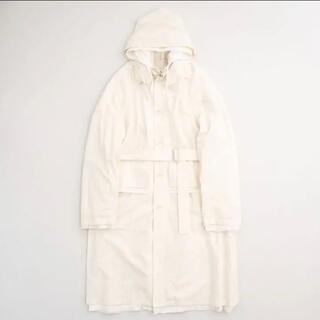 SUNSEA - stein 21ss oversized layered hooded coat