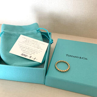 Tiffany & Co. - ティファニー ボールリング 14号