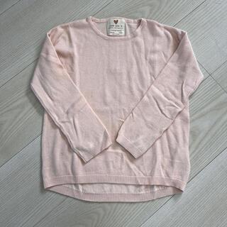 ザラキッズ(ZARA KIDS)のZARA girls 薄手 セーター(ニット)